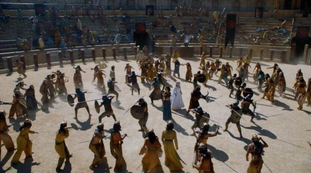 Image result for game of thrones season 5 fighting pen