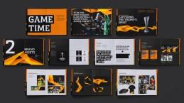 La agencia mantiene los dos colores principales: naranja y negro. Sin embargo ha ampliado la paleta añadiendo un naranja suave, otro oscuro, y un negro más profundo. Fotos tomadas de la UEFA.