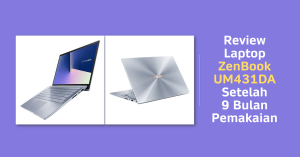 Review Zenbook UM431DA