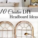 10 Creative Diy Headboard Ideas Tuft Trim