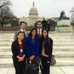Tufts Representatives at National Student Dental Lobby Day