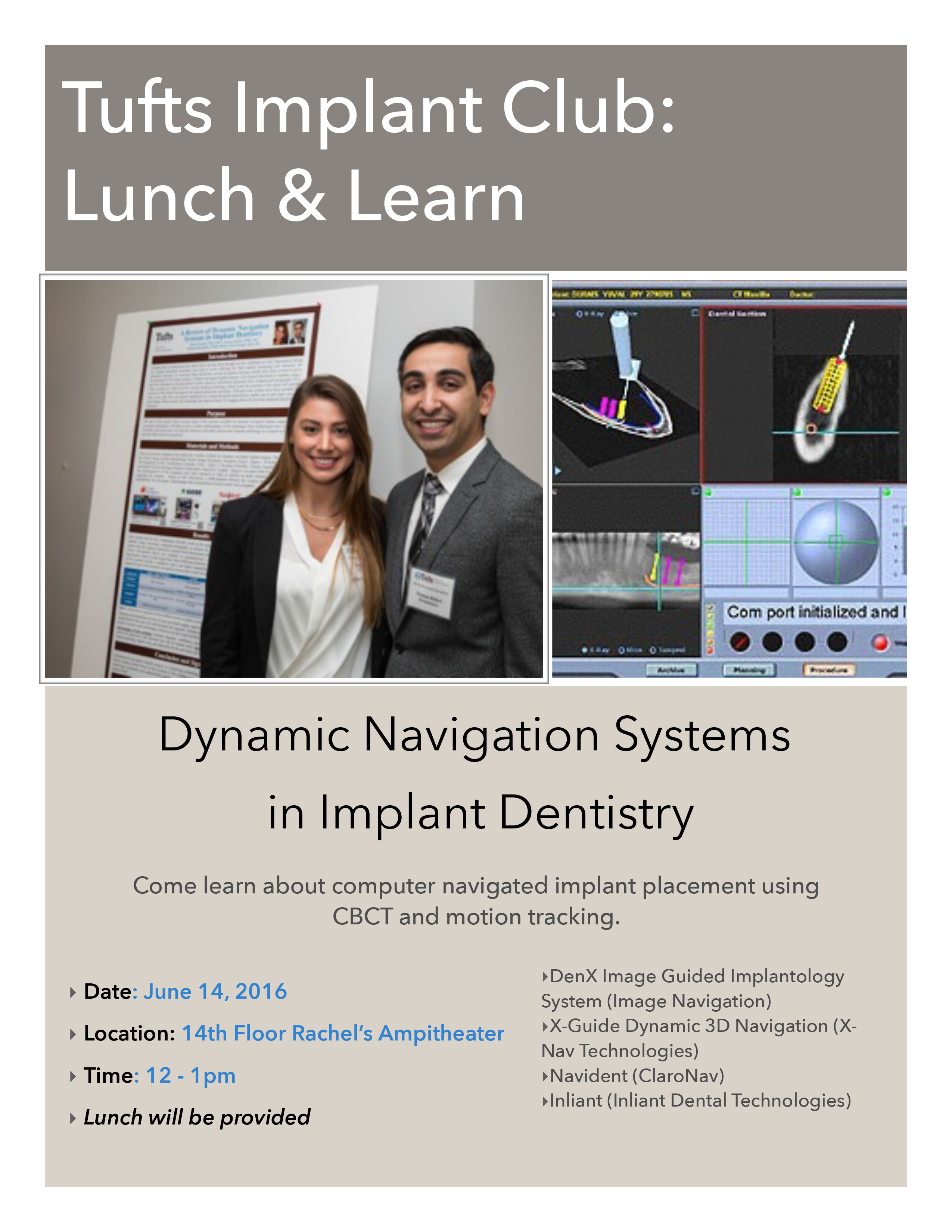 Tufts Implant Club: Lunch & Learn | Dental Central