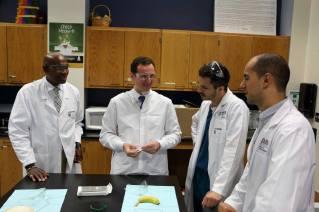 Dr. Leo Whitworth, Dr. Greg Kosmidis, Spencer Nice, and Alex Gomes