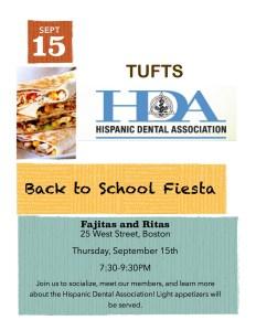 HDA: Back to School Fiesta @ Fajitas & Ritas | Boston | Massachusetts | United States