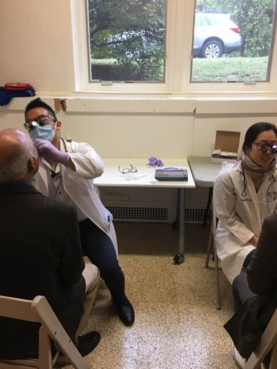 Oral cancer screening and oral health screening for patients