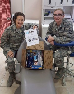 Thank you from the troops!