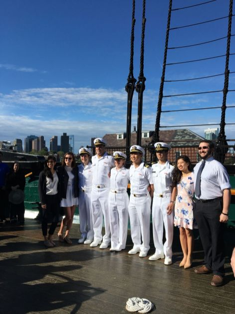 US Navy Commissioning Ceremony