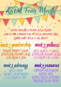 ASDA Fever Week 1 - Membership @ Outside 7th Floor Lounge