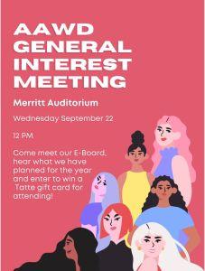 AAWD General Meeting @ Merrit