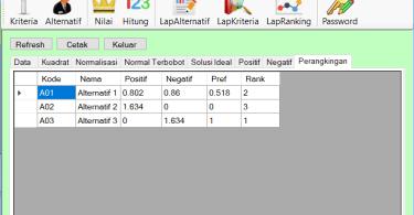 Source Code SPK Metode TOPSIS C Sharp FrmRelHitung