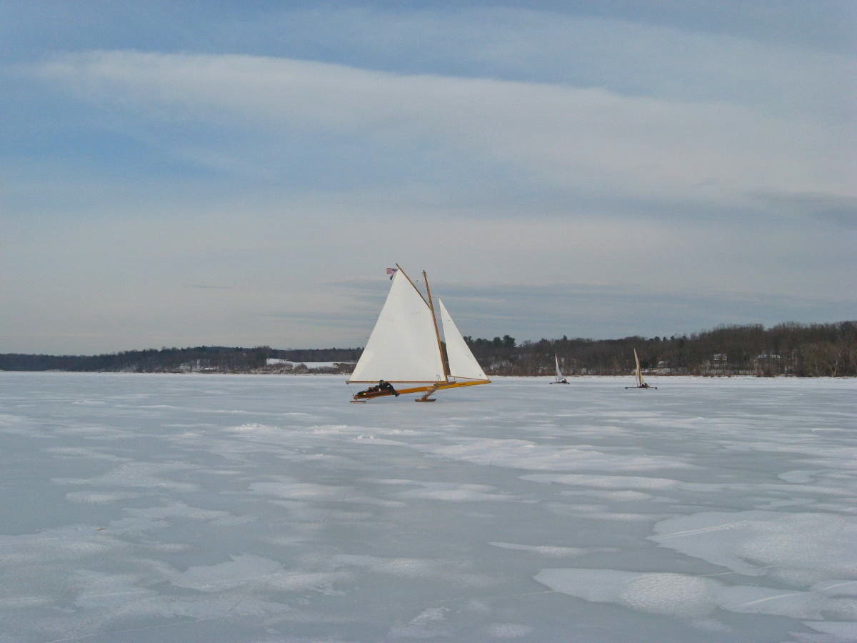 Ice Boating Tugster A Waterblog
