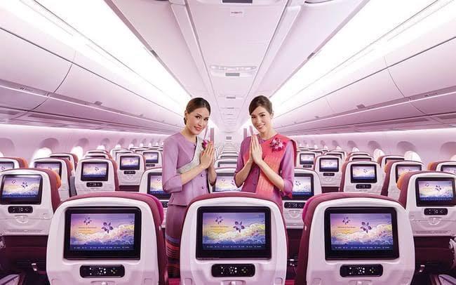 Vuelos directos desde Europa a Tailandia con Thai Airways.