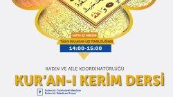 Kur'an-ı Kerim Eğitimi