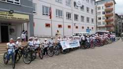 TÜGVA Bulancak'tan Bisiklet Turu