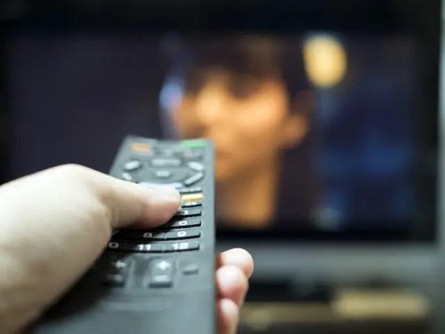プライムビデオをテレビで見てる画像