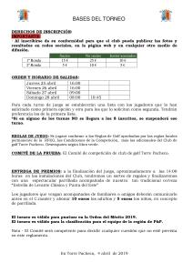 190428 TPA, Reglamento del torneo (2)