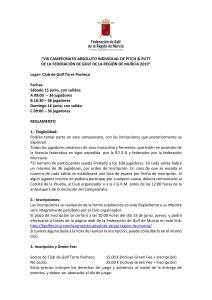 190615 TPA, Reglamento del torneo (1)