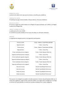 200503 May, Reglamento (2)