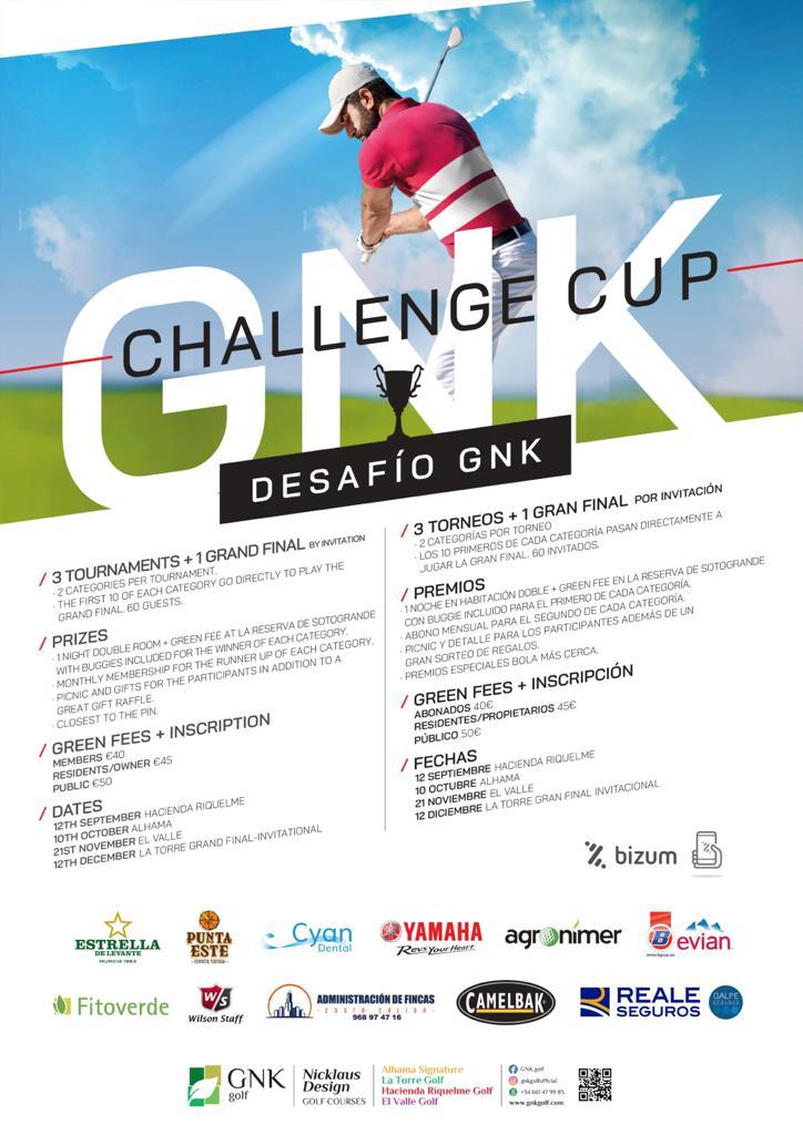 200912 HRI, Cartel del torneo