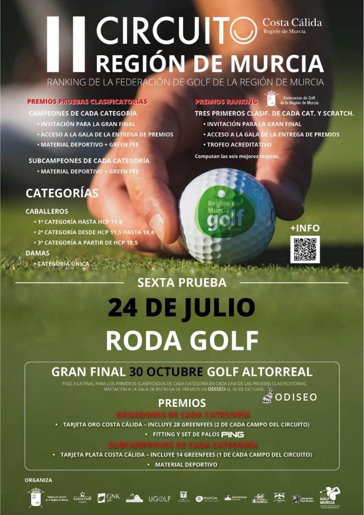 210724 ROD, Cartel del torneo