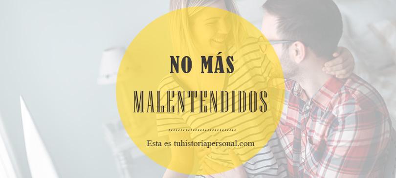 ¿Malentendidos con tu pareja, hijos, padres, socio o jefe?