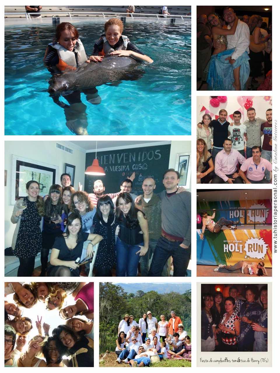 Collage propiedad de Catalina Tu Historia Personal 1