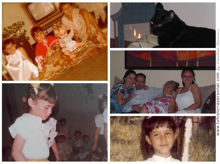 Collage propiedad de Catalina Tu Historia Personal 3