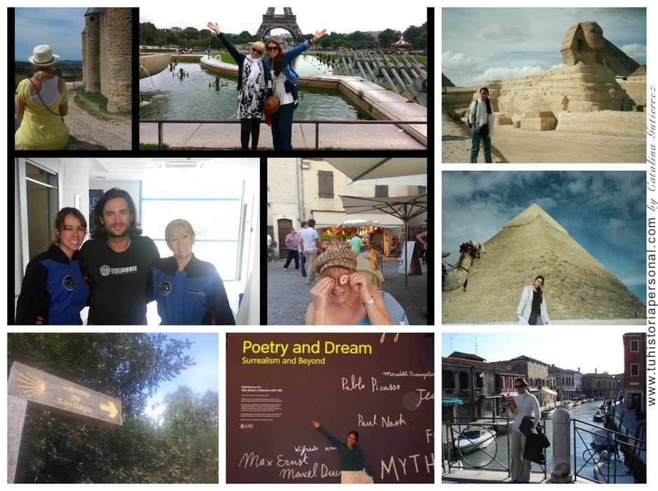 Collage propiedad de Catalina Tu Historia Personal 7