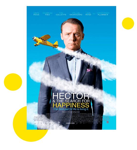 Poster Hector y el diario de la felicidad en tuhistoriapersonal.com