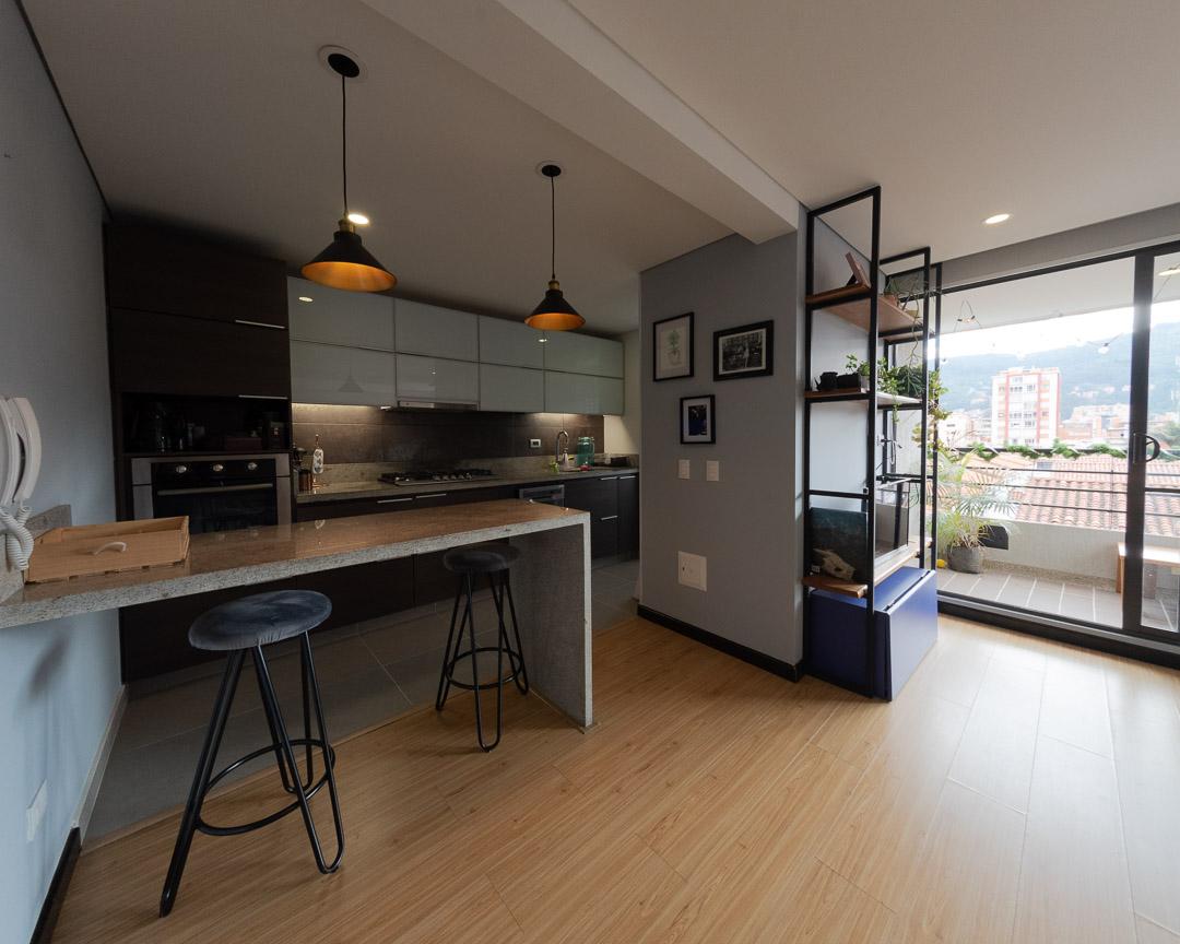 Se vende apartamento en Cedritos 3er piso - Cocina