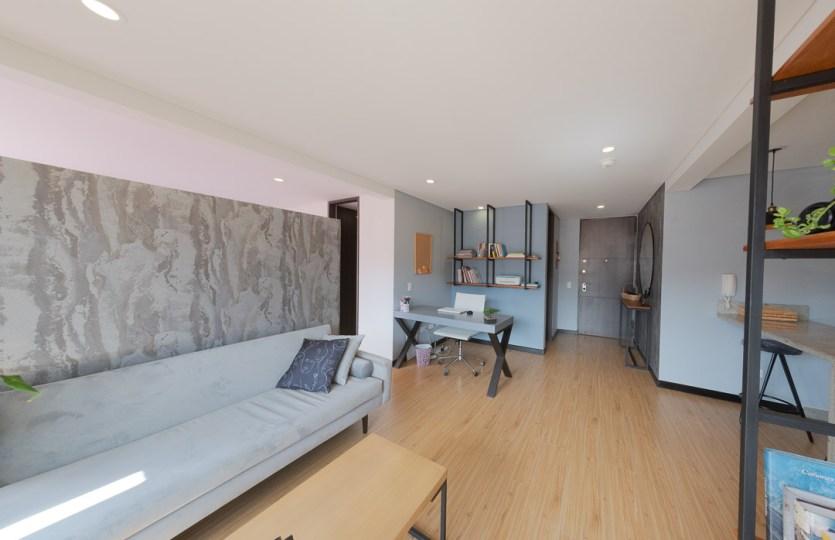 Se vende apartamento en Cedritos 3er piso - Sala 4
