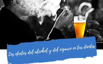 Los efectos del alcohol y del cigarro en tus dientes