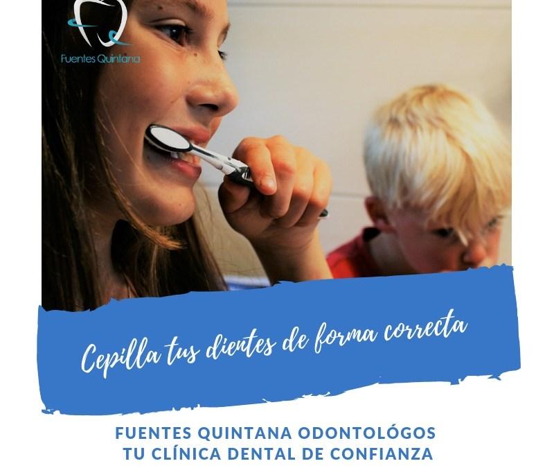 Cepilla tus dientes de forma correcta TuImplante