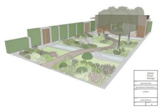 Homebase Urban Retreat Garden door Adam Frost