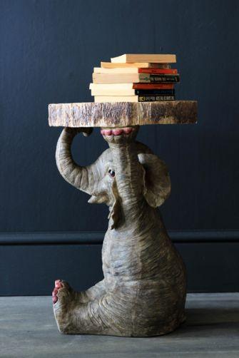 Elton the Elephant side table by Rockett St George