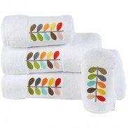 Embrodered Towel & Mitt