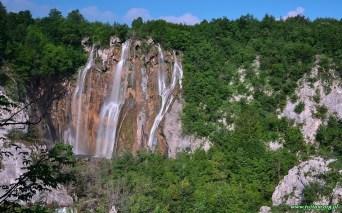 Plitwickie jeziora - Wielki wodospad