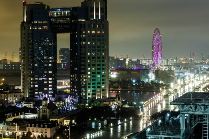 東京・お台場のイルミネーション