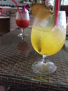 福間海岸ハワイアンカフェマハロのジュース