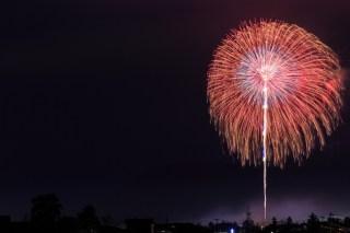 隅田川花火大会の穴場スポットから見る打ち上げ花火