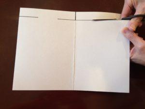 メッセージカード制作手順2