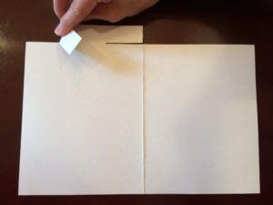 メッセージカード制作手順4