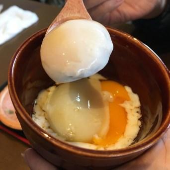 波平のランチの半熟卵