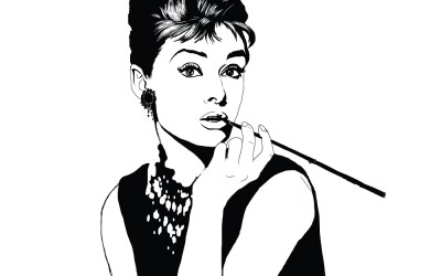Day 7 of 100 – Audrey Hepburn