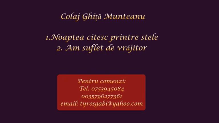 Colaj Ghita Munteanu- Negativ Karaoke Demo by Gabriel Gheorghiu