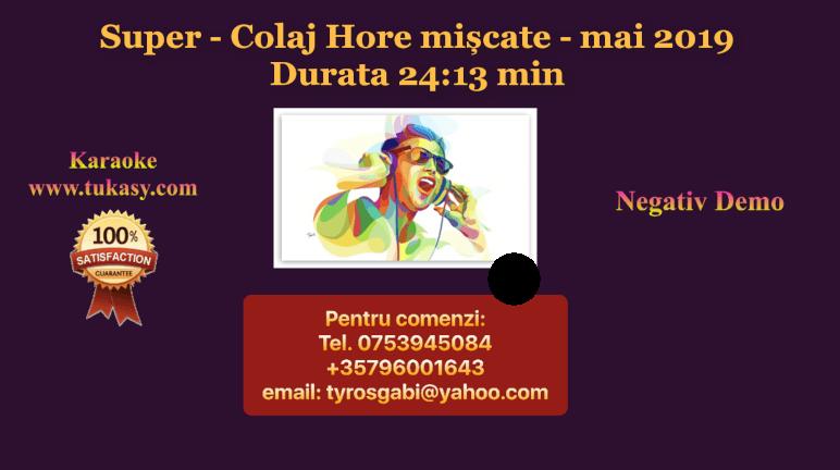 Colaj Hore miscate mai 2019