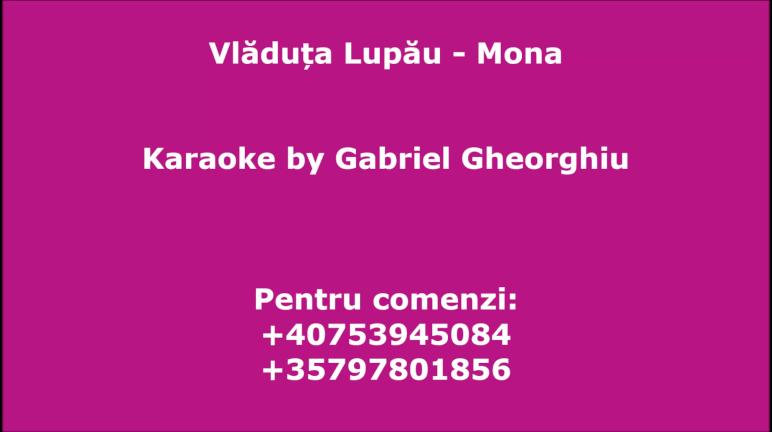 Se marita Mona – Vladuta Lupau