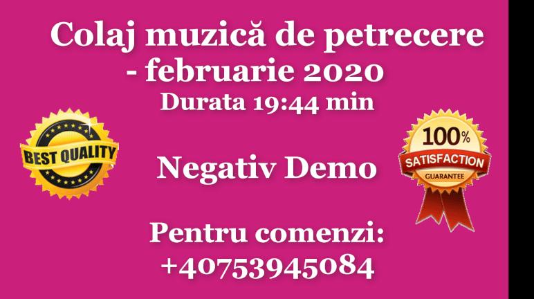 Colaj muzica de petrecere – februarie 2020