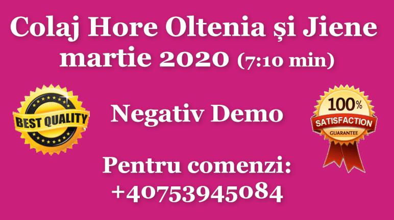 Colaj Hore Oltenia si Jiene – martie 2020