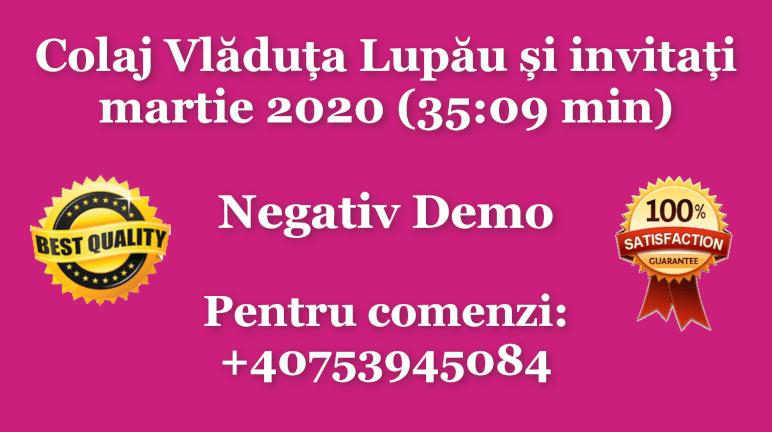 Colaj Vladuta Lupau si invitati – martie 2020